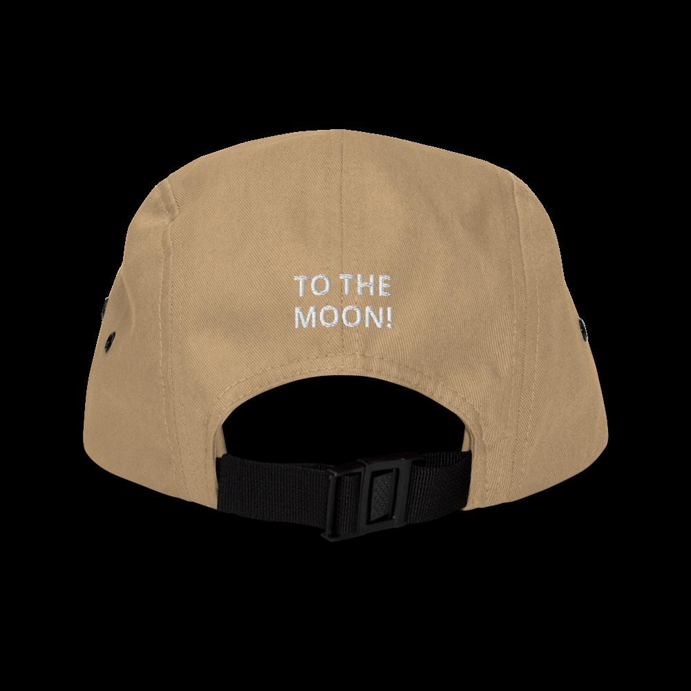 5-Panel Eye-Moon Snapback Hat w free mask